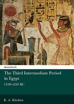 THIRD INTERMEDIATE PERIOD IN EGYPT 1100-650 BC ARIS AND PHILLIPS By Kitchen VG