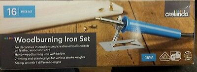 Crelando Wood Burning Iron Set