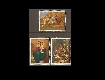 SG756-758 1967 XMAS Unmounted Mint