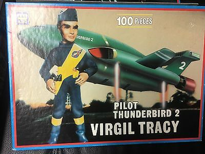 Virgil Tracy Thunderbirds KING 100 PC JIGSAW  all complete  GERRY ANDERSON