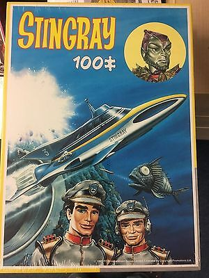 Stingray King 100 Pc Jigsaw  Shrink Wrapped Gerry Anderson # 1