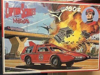 Captain Scarlet SPC KING 100 PC JIGSAW  SHRINK WRAPPED GERRY ANDERSON # 2