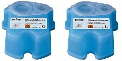 Braun CCR2 Clean and Renew Refill Cartridges - 2 Pack