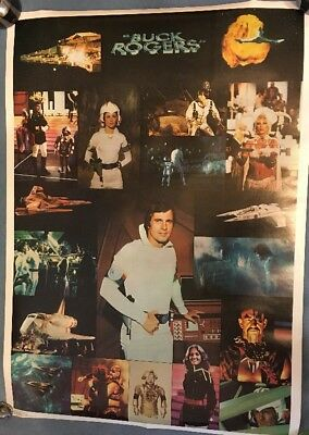 """Vintage 1979 Buck Rogers Poster 28""""x20"""""""