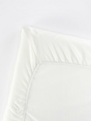 BABYBJRN Fitted Sheet for Travel Cot Light (Organic Natural White)
