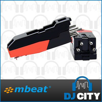 mBeat Replacement Stylus and Cartridge Pair for Portable Vintage Turntables