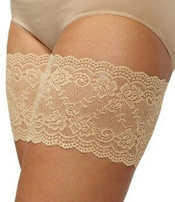 Bandelettes Elastic Anti-Chafing Thigh Bands *Prevent Thigh Chafing* - Beige ...