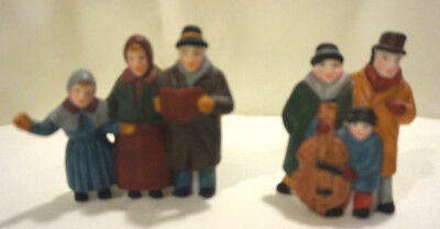 "Heritage Village Collection Dept 56 ""Carolers"" 6526-9 set of 2        #876"