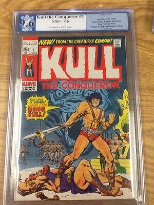 Kull The Conqueror #1 PGX NM+ 9.6- like CGC