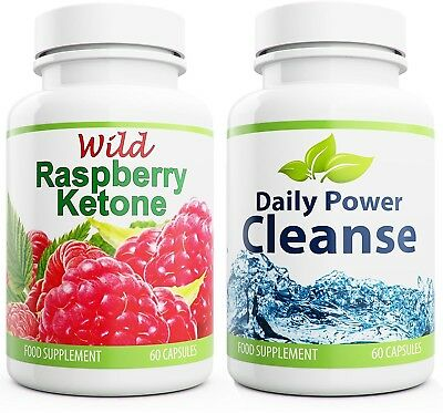 daily power cleanse 60 capsules wild raspberry ketone 60 capsules eur 77 44 picclick it. Black Bedroom Furniture Sets. Home Design Ideas