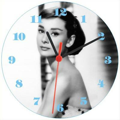 Clock-661 Audrey Hepburn Wall Clock New Cool Hot Beauty NR