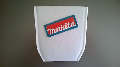 2 x Makita Vacuum Filters (Genuine) - fits BCL180, DCL180, LC01 & CL100D