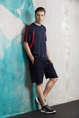 Mens Flash Tee Sport Uniform Casual Exercise Clothing