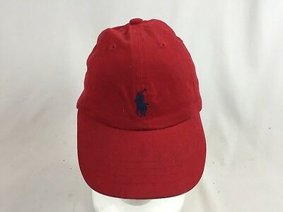 Polo Ralph Lauren Red Stretch Fit Hat Youth Size 9-24 Months