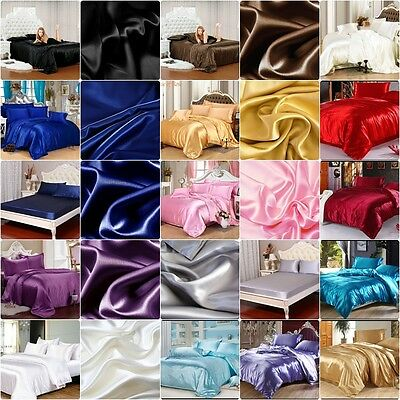 SALE Hotel Quality UK 1200 TC 2pc Pillow Cases Super Soft Satin Silk Scala Brand