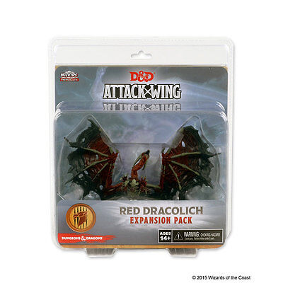 D&D Attack Wing - Red Dracolich