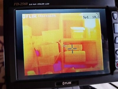 FLIR ThermaCam PM695 Infrared Thermal Imaging Camera PM 695 Imager 320 x 240
