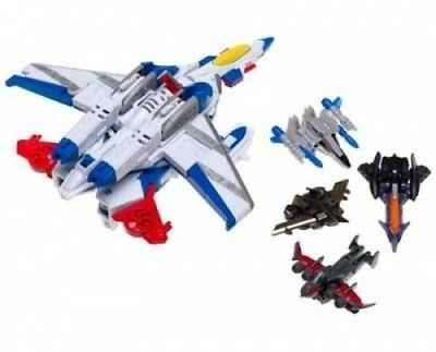 Transformers Universe Ramjet (With Thunderclash, Gunbarrel, Terradive, and