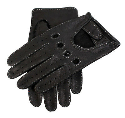 Dents Winchester Men's Handsewn Deerskin Leather Driving Gloves