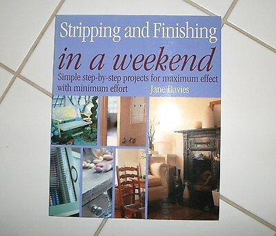 Stripping & Finishing In A Weekend - Jane Davies