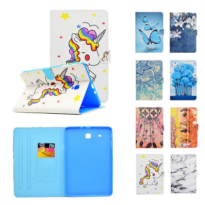Magnetic Case PU Leather Flip Stand Cover for Samsung Galaxy Tab E 9.6 SM-T560