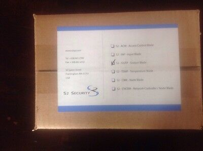 S2 Security S2-OUTP Output Blade - Factory sealed box NEW