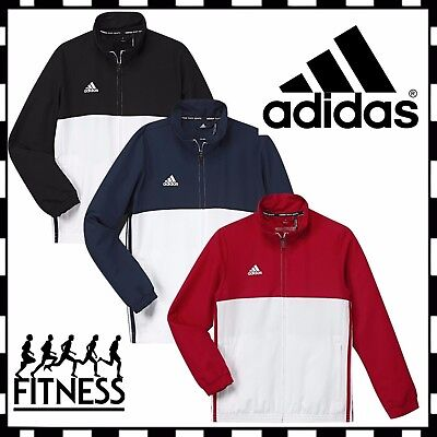 New Adidas T16 Teamwear Climalite Mens Full Zip Sports Track Top Jacket rrp £50