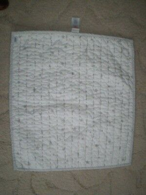 Mamas and Papas Millie Boris unisex moses basket coverlet / quilt