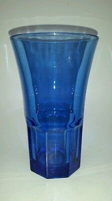 "Libby Cobalt Blue Flared 6"" Tall Tumbler"