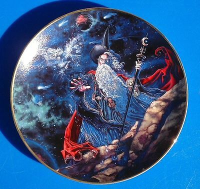 ROYAL DOULTON DRAGON STAR PLATE No.PD5848 - FRANKLIN MINT/ NEW/ Myles Pinkney