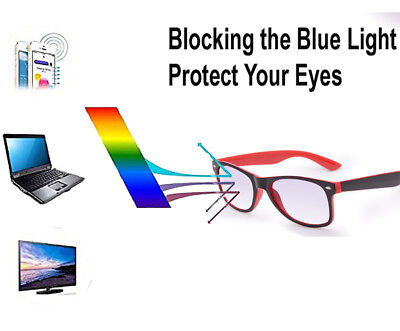 Unisex Reading Glasses Designer Vision Anti Glare Blue Light Computer