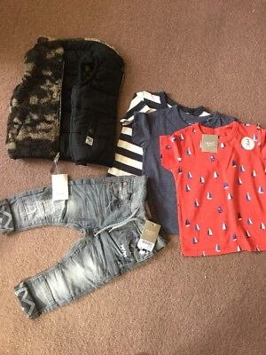 Next Boy Clothes Bundle Brand New With Tags Age 9-12 Months Rrp£48