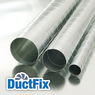 Paint Booth Ductwork / Ducting 500Ø 3m Length - All Sizes - Uks Cheapest
