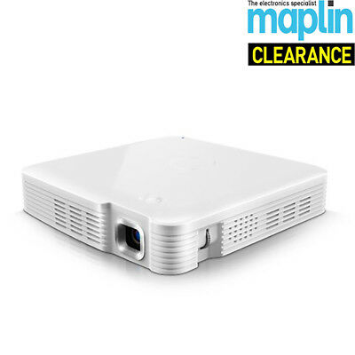 Miroir Pocket Projector MP50 85 ANSI Lumens Maplin Unit Only No Power Lead