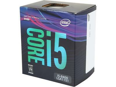 Intel Core i5-8400 Coffee Lake 6-Core 2.8 GHz (4.0 GHz Turbo) LGA 1151 (300 Seri