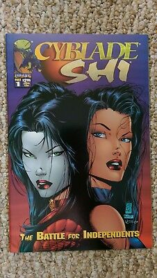 Cyblade / Shi: The Battle for Independents - 1st app of Witchblade