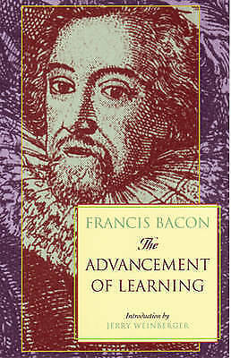 The Advancement of Learning by G.W. Kitchin, Francis Bacon (Paperback, 2001)