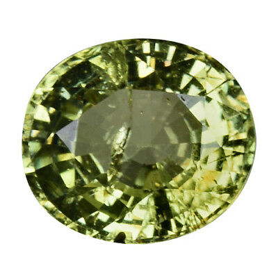 2.120Cts Charming top green natural chrysoberyl oval video in description