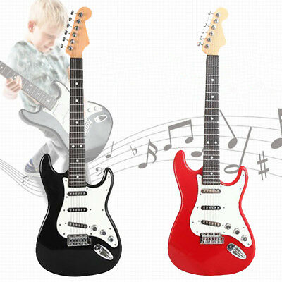 25'' children's Practice electric Guitar 6 String kids Musical Instruments toys