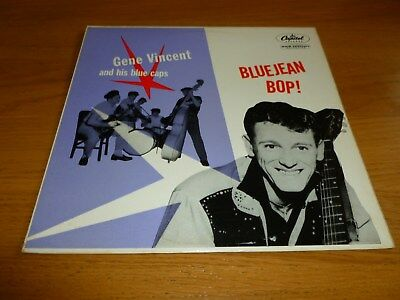 GENE VINCENT. BLUEJEAN BOP. MONO  LP. 1950s  Rock 'n' Roll