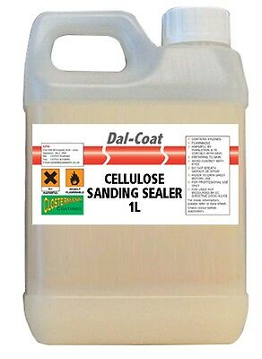 1L Cellulose Sanding Sealer Clear Seal For Wood Softwood/MDF/Hardwood