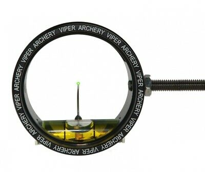 (3.5cm , Black) - Viper Archery Products Scope with 0.019 Green Up Pin and 6X