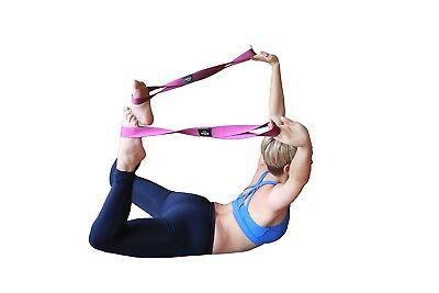(48cm , Gold) - Number 8 Yoga Straps for Stretching – Set of 2 Premium Straps