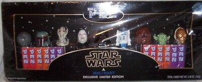 Star Wars Wal-Mart Exclusive Limited Edition Pez Collector's Set. PEZ Candy