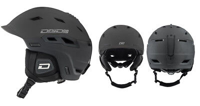Dirty Dog Crater Ski Snowboard Helmet Brand New Colour and Size Options Availabl