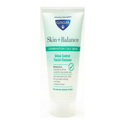 Cuticura Skin+ Balance Soothing Facial Cleanser for Combination Oily Skin