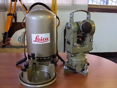 Wild Leica Heerbrugg T2 (70) Theodolite (Transit) For Surveying