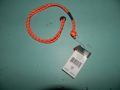 Ralph Lauren Polo Mens Button Wrist Strap Bracelet Orange NIB