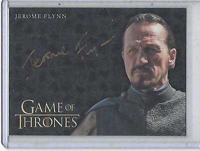 Game of Thrones Valyrian Steel Jerome Flynn GOLD autograph #1