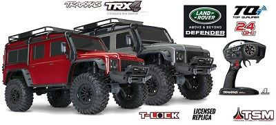Traxxas TRX-4 Land Rover Defender 1:10 4WD RTR Crawler TQi 2.4GHz Wireless 82056